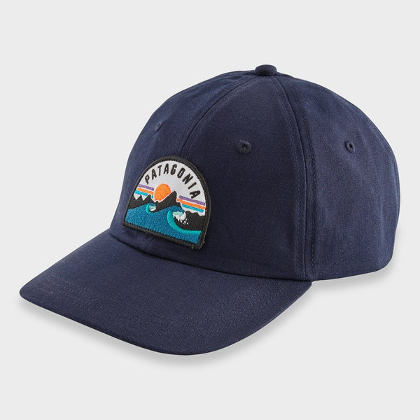 product: Patagonia Boardie Badge Trad Cap Navy
