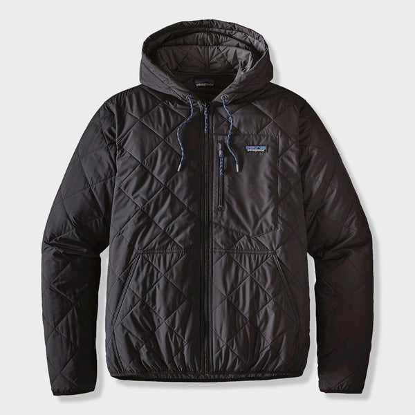 product: Patagonia Diamond Quilted Bomber Hoody Black