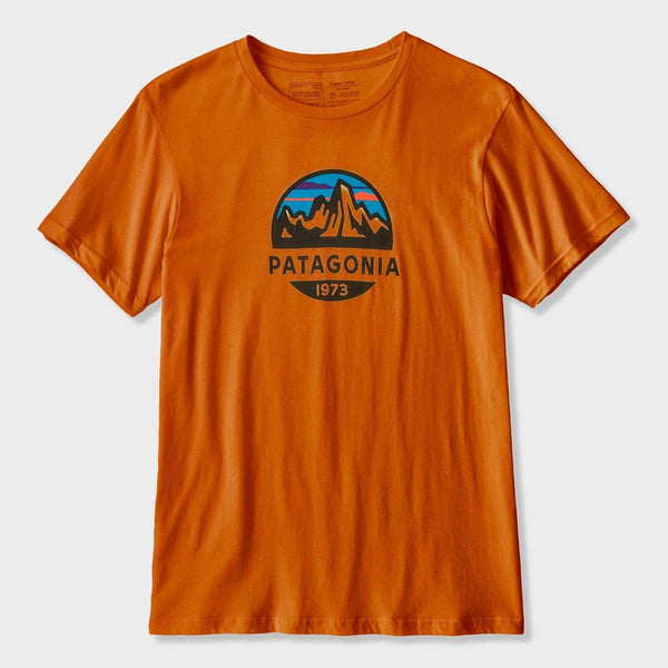 product: Patagonia Fitz Roy Scope Organic T-Shirt Hammonds Gold