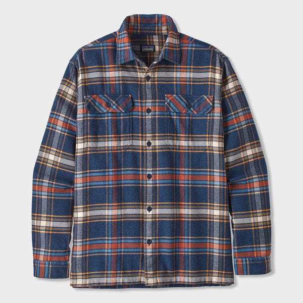 product: Patagonia Fjord Flannel Defender Neo Navy