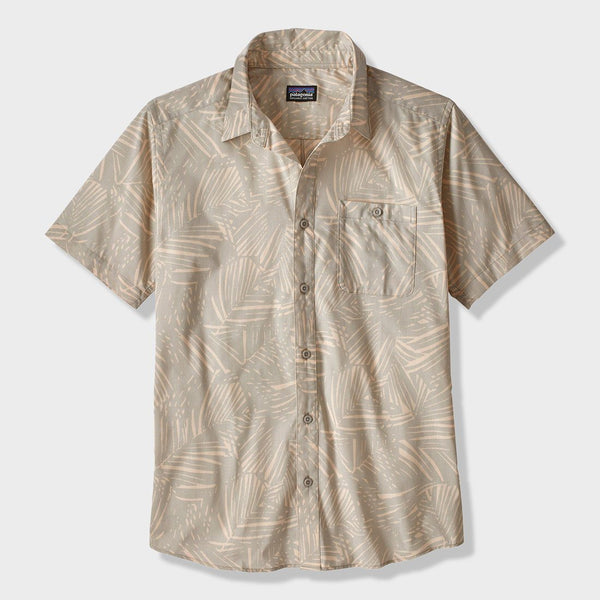 product: Patagonia Go To T-Shirt Rain Fern Reverse Tailored Grey