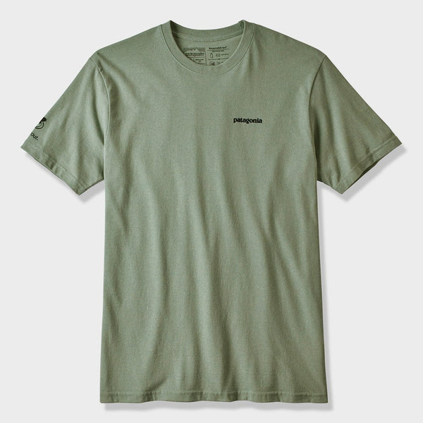 product: Patagonia Greenback Cuttthroat World Trout Responsibili-Tee T-Shirt Celadon