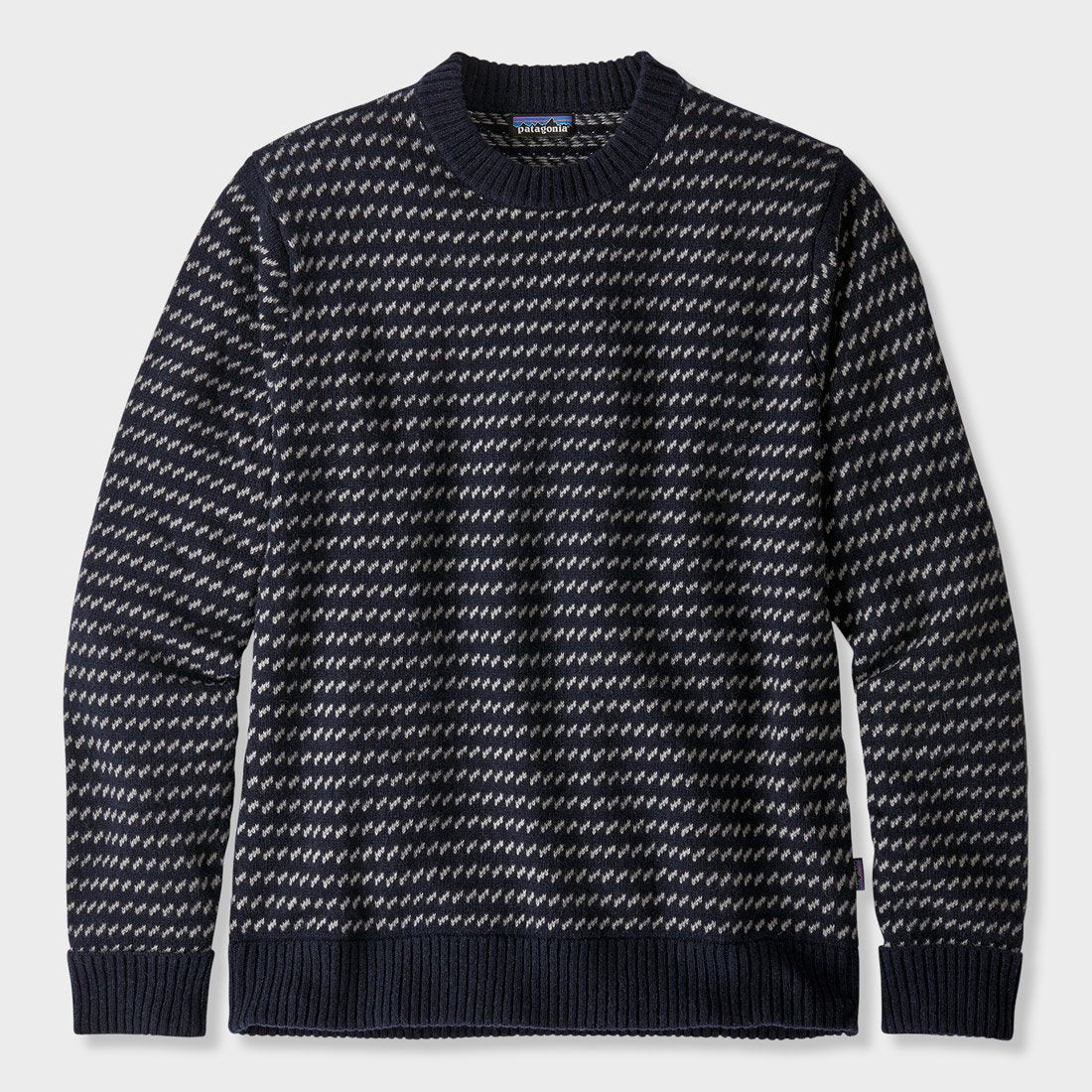 Patagonia Recycled Wool Sweater Classic Navy