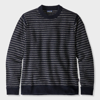 product: Patagonia Recycled Wool Sweater Classic Navy