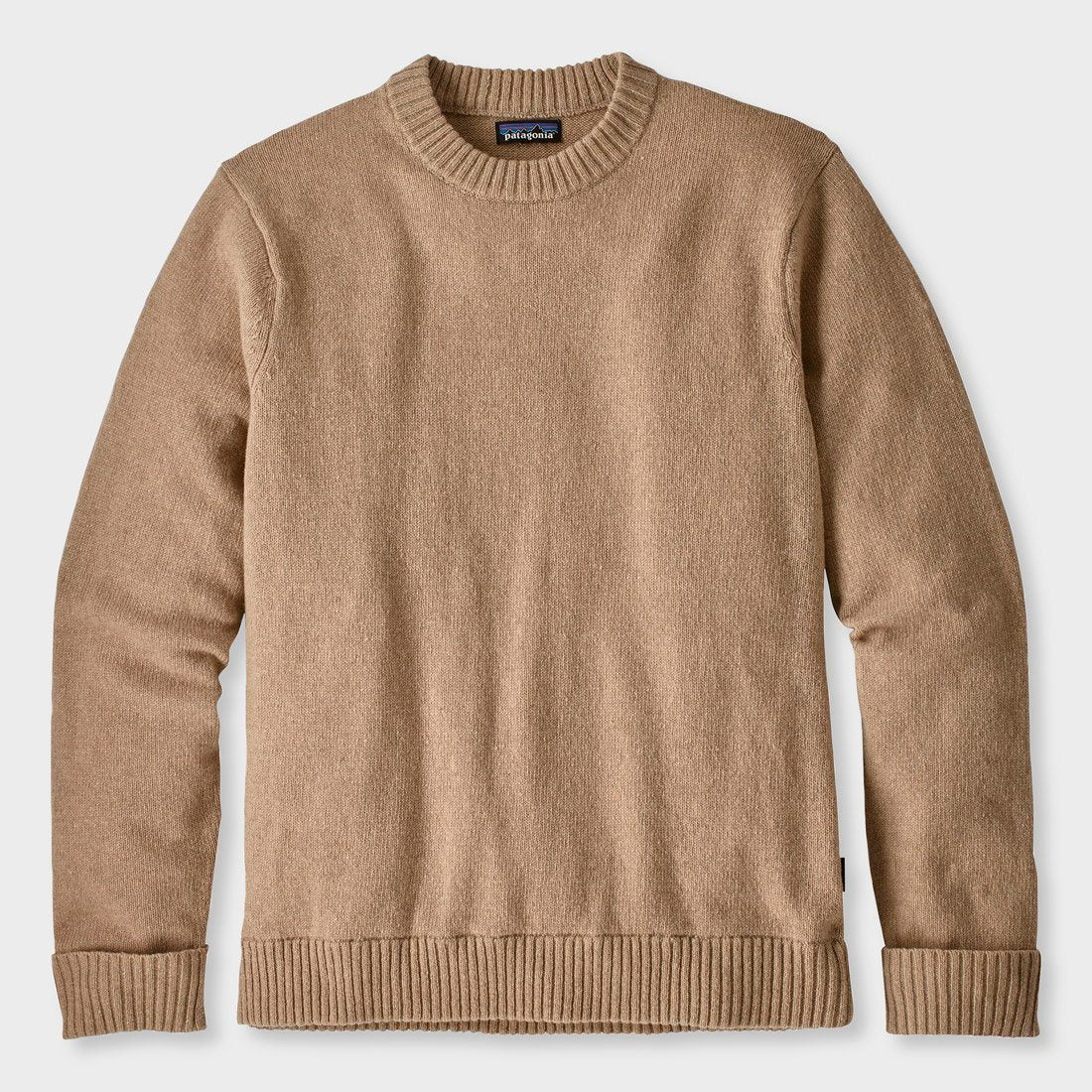 Patagonia Recycled Wool Sweater El Cap Khaki