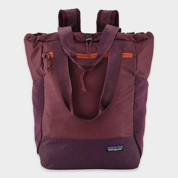 product: Patagonia Ultralight Black Hole Tote Pack Light Balsamic