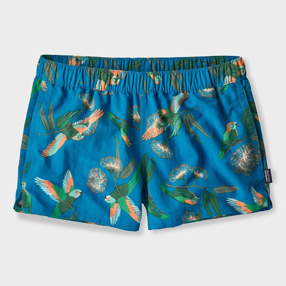 Patagonia Women's Barely Baggies Shorts Parrots Port Blue