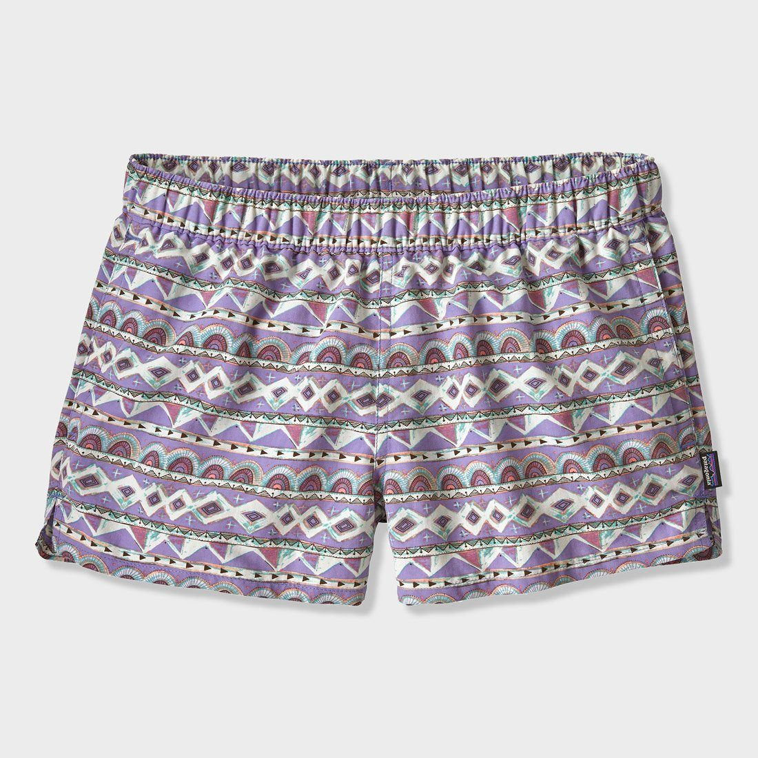 Patagonia Women's Barely Baggies Shorts Valengeo Light Violet Blue