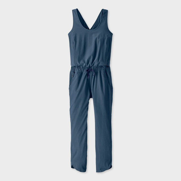 product: Patagonia Women's Fleetwith Romper Stone Blue
