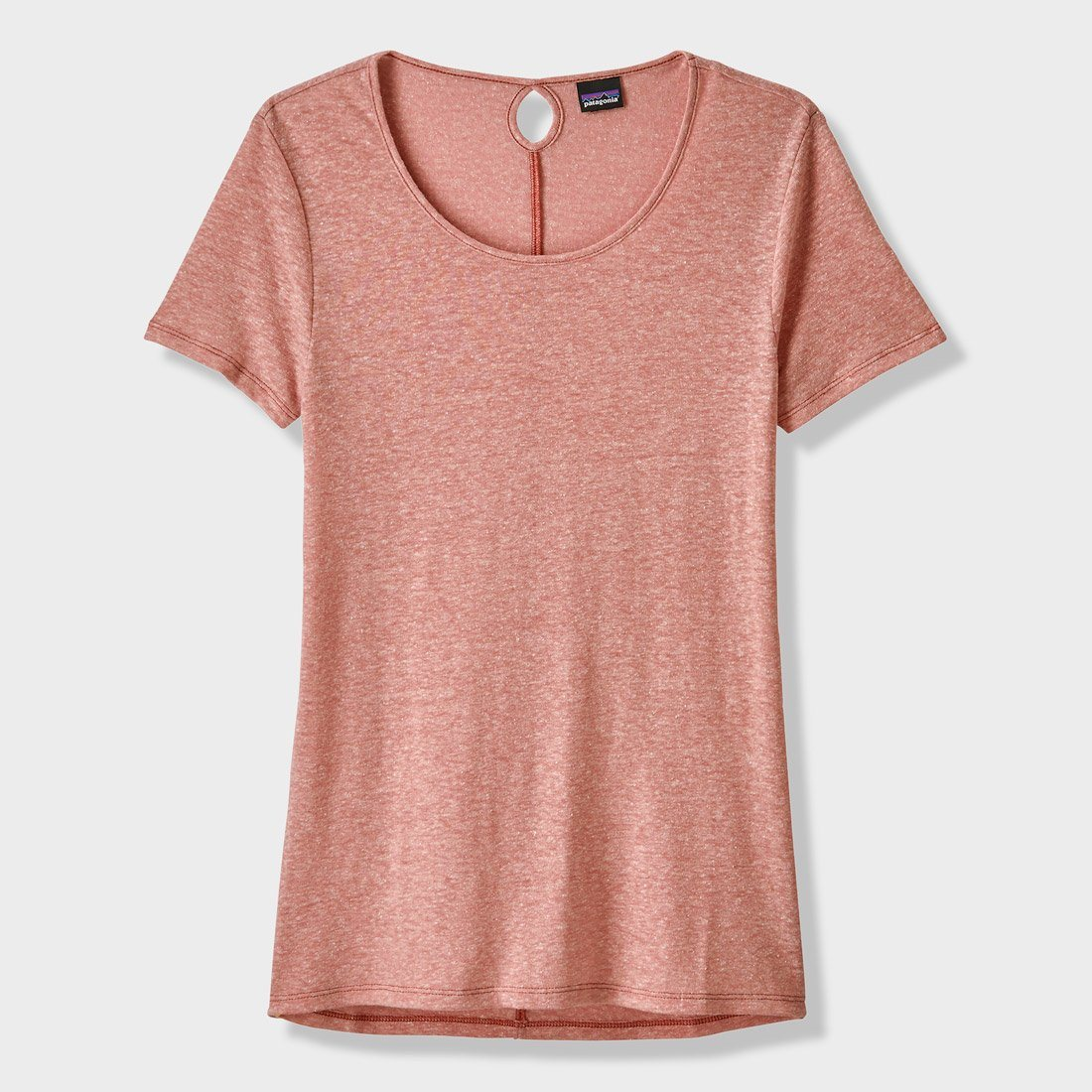 Patagonia Women's Mount Airy Scoop Air T-Shirt Flora Pink