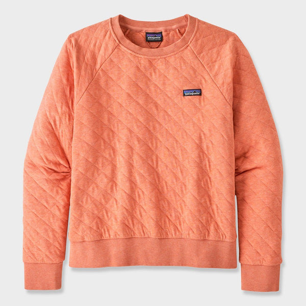 product: Patagonia Women's Organic Cotton Quilt Crew Mellow Melon