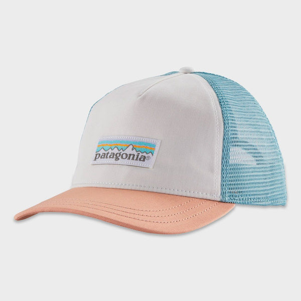 Product: Patagonia Women's Pastel P-6 Label Layback Trucker Hat White