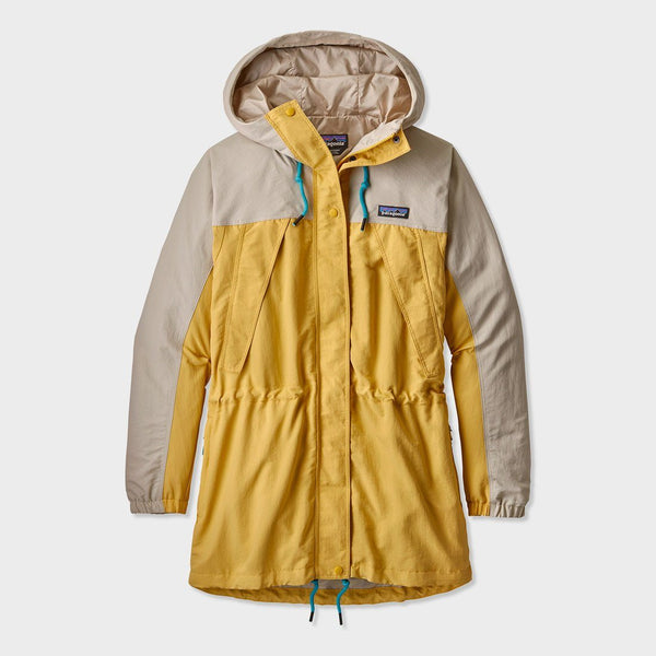 product: Patagonia Women's Skyforest Parka Surfboard Yellow
