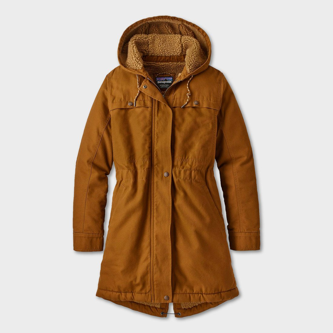 Patagonia Women's Insulated Prairie Dawn Parka Bence Brown