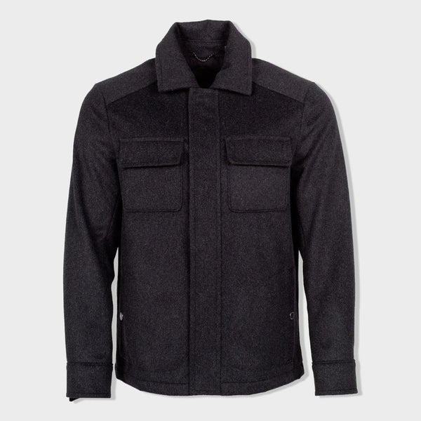 product: Pendleton Boulder Shirt Jac Charcoal
