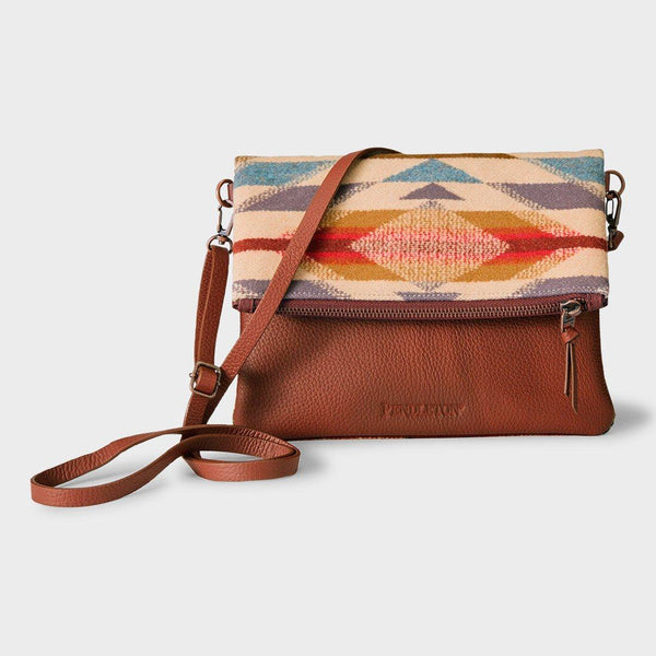 product: Pendleton Foldover Clutch Wyeth Trail