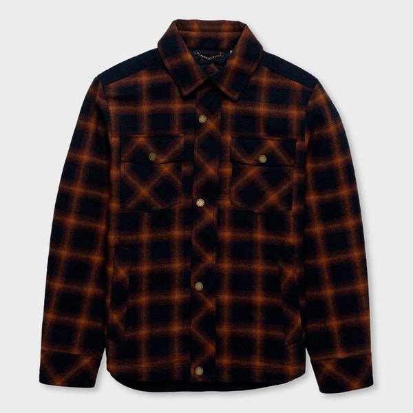 product: Pendleton Hood River Flannel Pendleton Iconic Copper Plaid