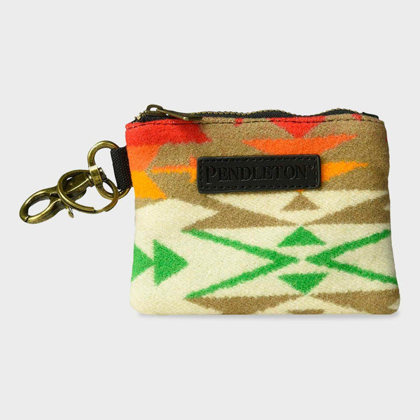 product: Pendleton ID Pouch with Key Ring Tucson Khaki