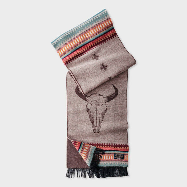 product: Pendleton Jacquard Muffler Scarf American West