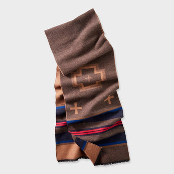product: Pendleton Jacquard Muffler Shelter Bay