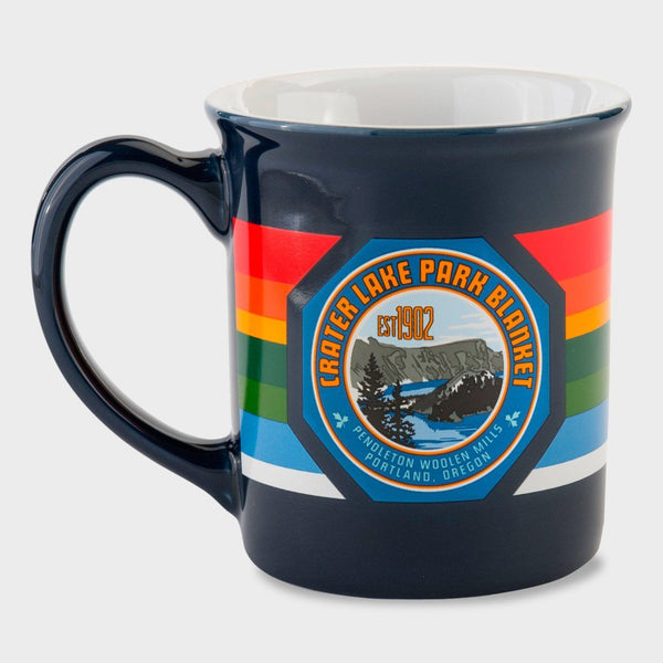 product: Pendleton National Park Coffee Mug Crater Lake Navy