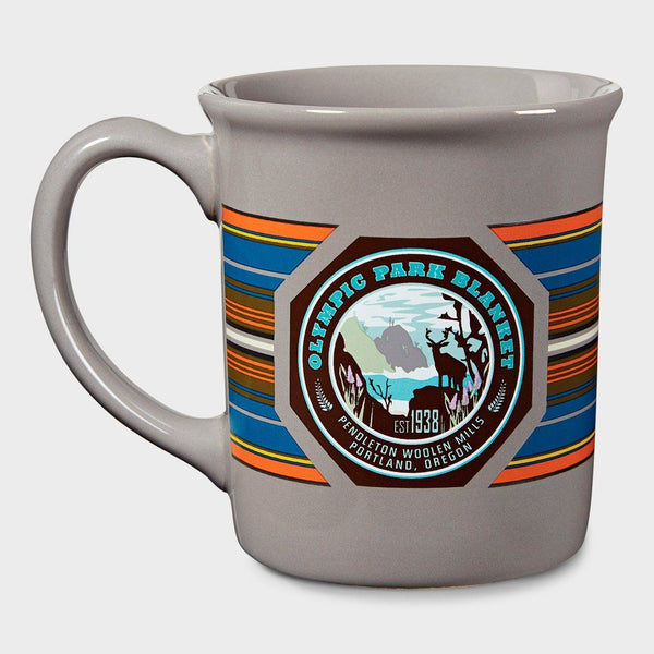 product: Pendleton National Park Coffee Mug Olympic Grey