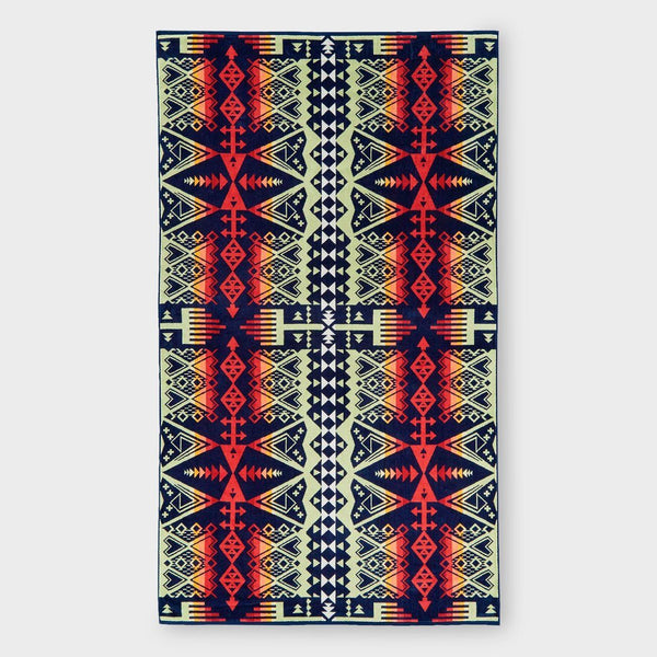 product: Pendleton Oversized Jacquard Towel Heritage Arrow Revival
