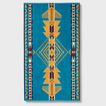 product: Pendleton Oversized Jacquard Towel Eagle Gift