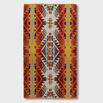 product: Pendleton Oversized Jacquard Towel Journey West