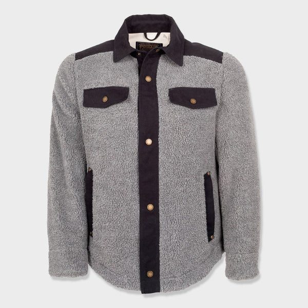 Pendleton Redwood Shirt Jac Gray Flannel