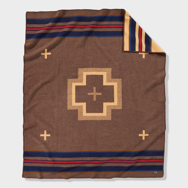 product: Pendleton Shelter Bay Blanket Robe Shelter Bay