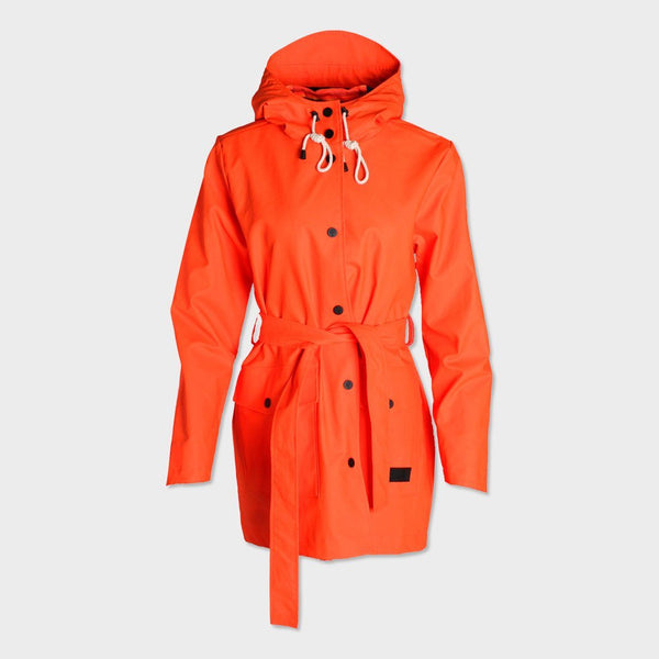 product: Pendleton Women's Brookings Rain Slicker Tangerine