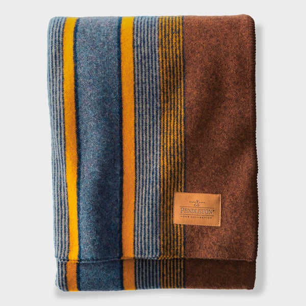 product: Pendleton Yakima Camp Blanket Throw High Ridge