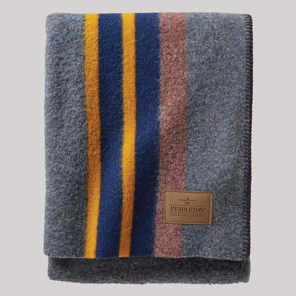 product: Pendleton Yakima Throw Lake Grey
