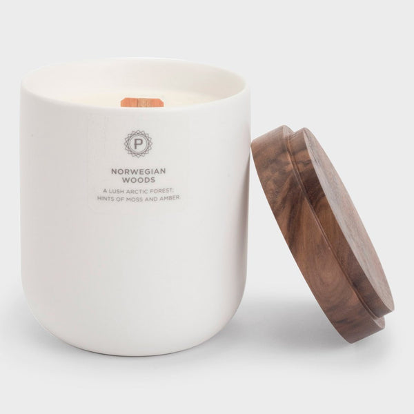 product: Penrose Candles Ceramic Candle Norwegian Woods