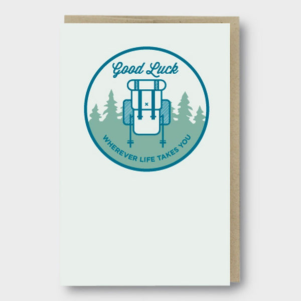 product: Pike St. Press Card Good Luck Backpack