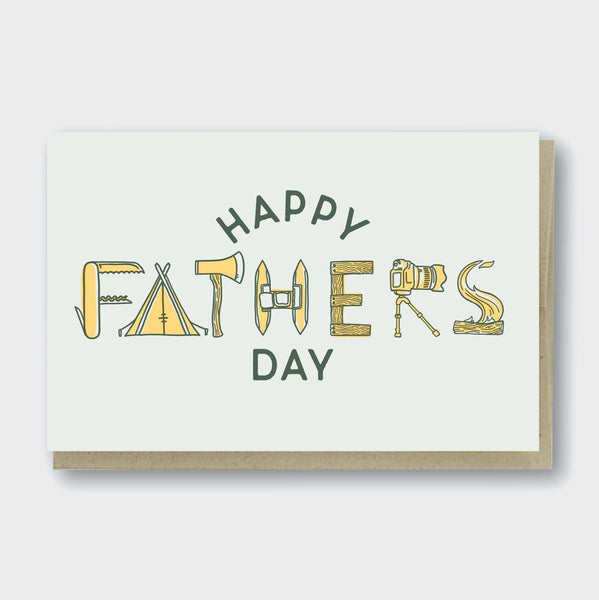product: Pike St. Press Father's Day Outdoors Card