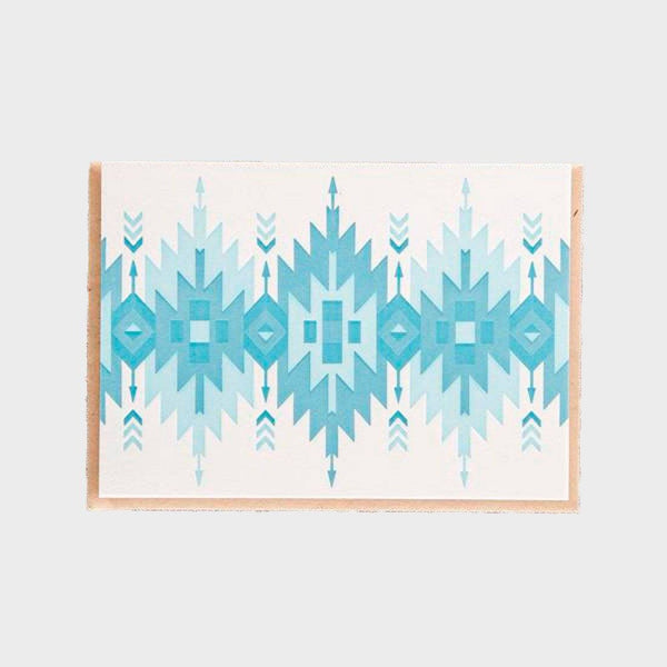 product: Pike St. Press Card Native Blues