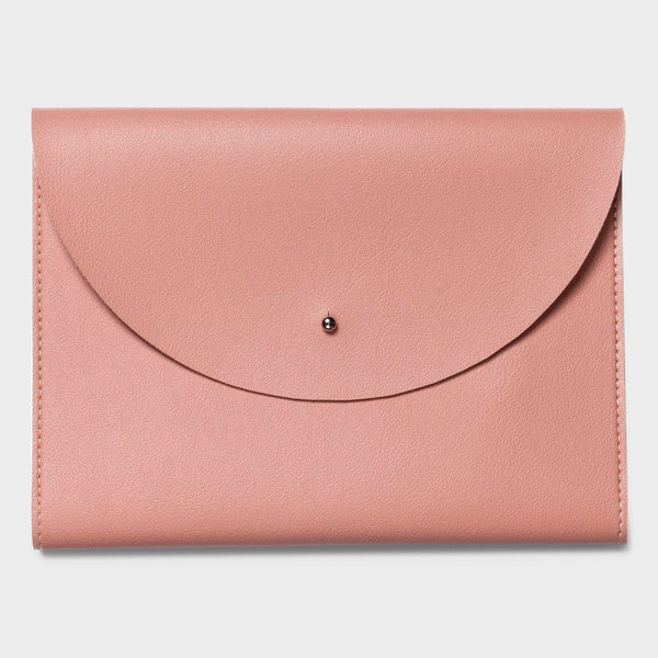 product: Poketo Medium Minimalist Folio Blush