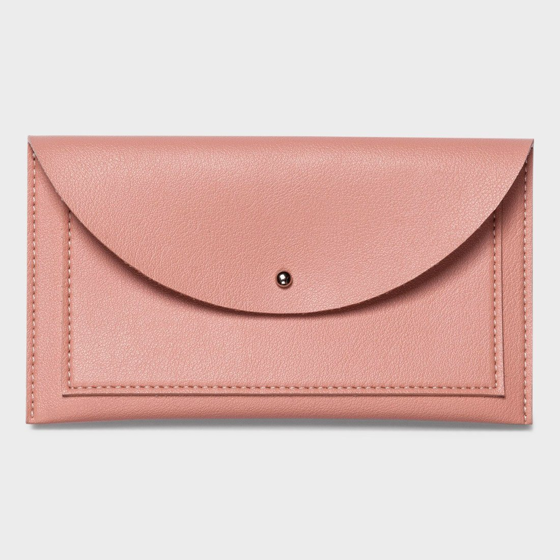 Poketo Minimalist Envelope Wallet Blush