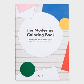product: Poketo Modernist Coloring Book Vol. 2