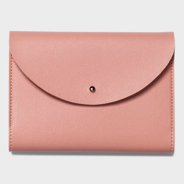 product: Poketo Small Minimalist Folio Blush