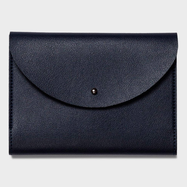 product: Poketo Small Minimalist Folio Navy