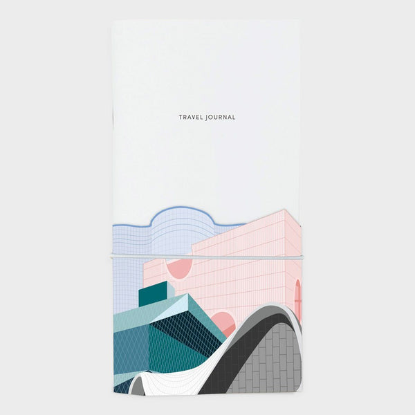 product: Poketo Travel Journal Architecture Trip