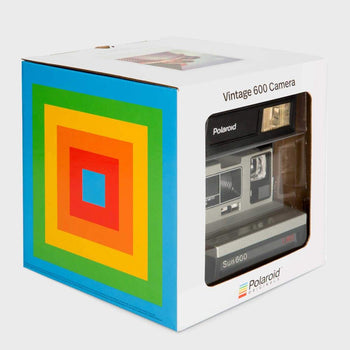 product: Polaroid Originals Polaroid Originals 600 Camera Silver LMS