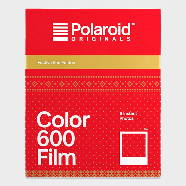 product: Polaroid Originals 600 Film Festive Red Edition