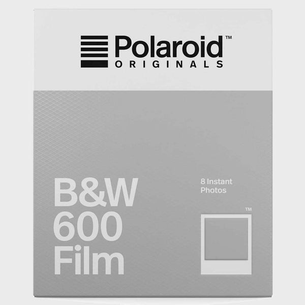 product: Polaroid Originals Polaroid Originals B&W 600 Film White Frame