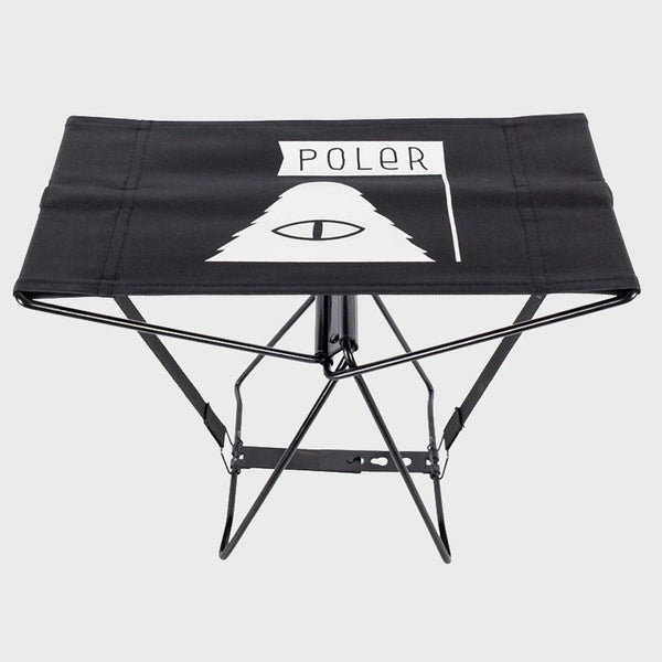 product: Poler Cyclops Folding Chair Black