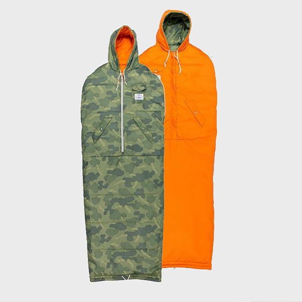 product: Poler Reversible Napsack Furry Green Camo