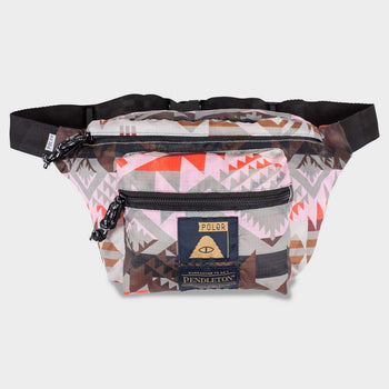 product: Poler Stuffable Fanny Pack Misty Pink
